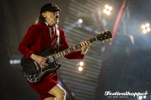AC/DC mit Axel Rose im Hamburger Volksparkstadion