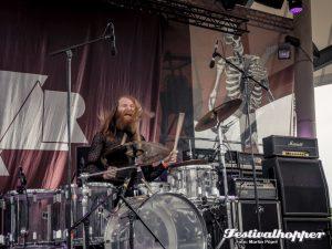 Kadaver beim Rock Hard Festival 2016