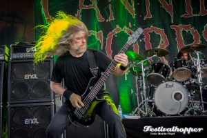 Cannibal Corpse beim Rock Hard Festival 2016