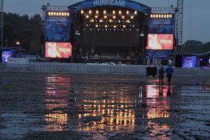 Bühne Wasser- Hurricane '16