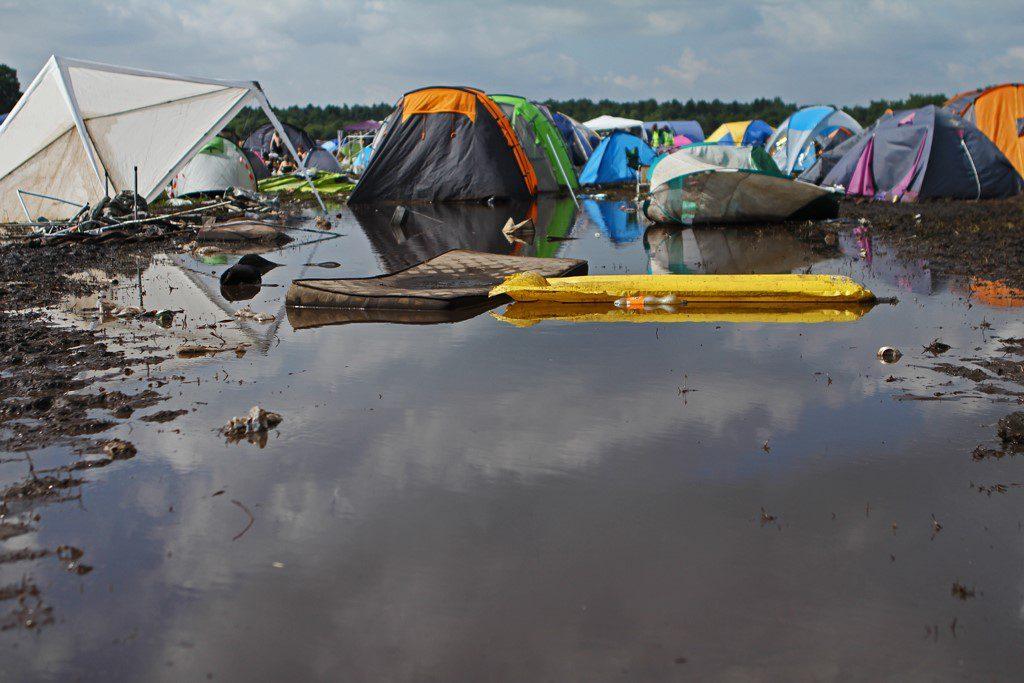 Camping 1- Hurricane '16