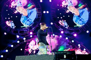 Red Hot Chili Peppers im Park 2016
