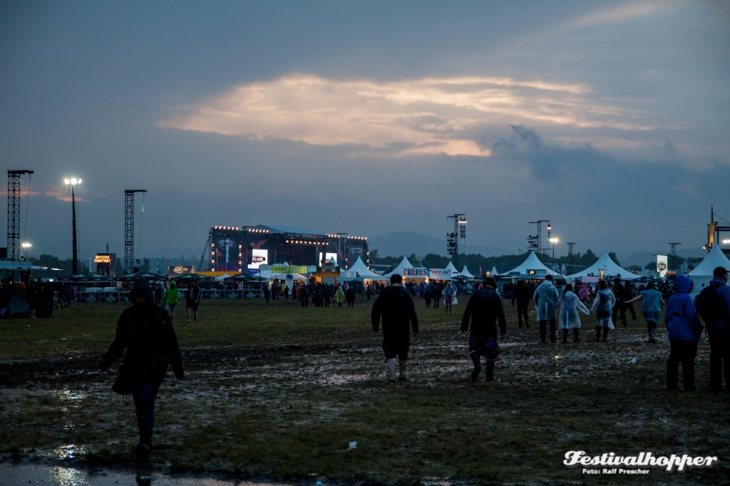 Unwetter In Mendig Rock Am Ring 2016 Unterbrochen