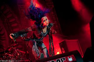Arch Enemy Alissa White-Gluz Reload Festival 2016