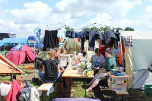 Crew-Camping der Foodsaver @ Hurricane