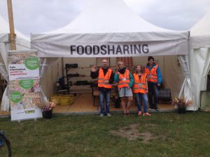 Foodsharing Team Beim Summer's Tale Festival