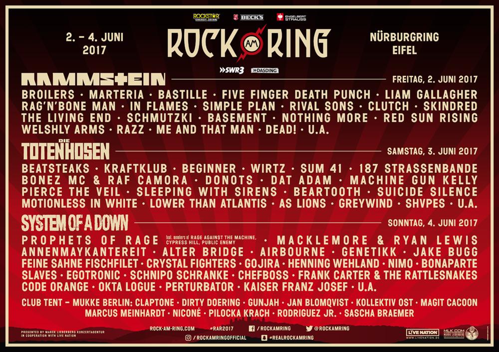 Gewinnspiel Mit Rockstar Energy Drink Zu Rock Am Ring 2017