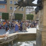 Wichiges Gut am Temperaturrekordwochenende in Rudolstadt