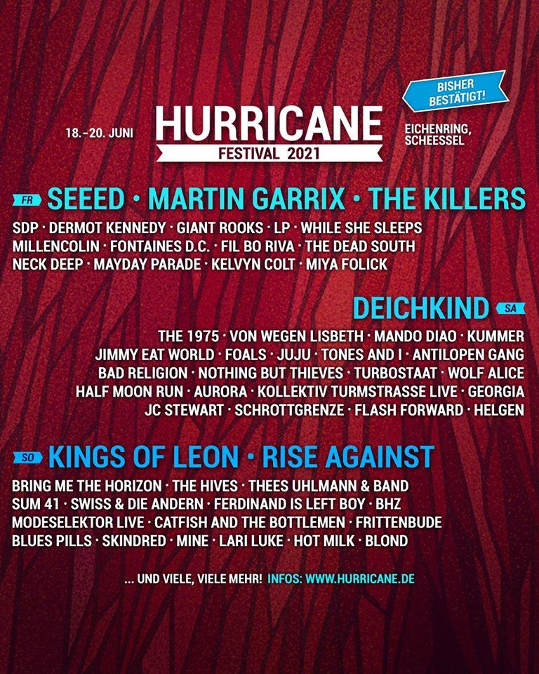 gewinnspiel tickets hurricane 2021